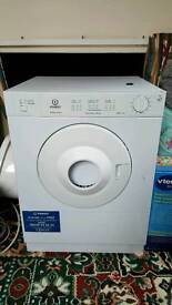 Indesit slimline vented tumble dryer in white, great Condition!