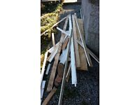 Free wood for pickup - useful for burning