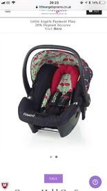 Cosatto flamingo car seat