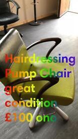 Salon Pump chair