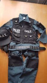 S.W.A.T Dressing Up Outfit 7-8 Years