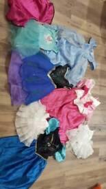 Assorted girls fancy dress, age 3-4