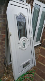 UPVC Front Door and Side Panel