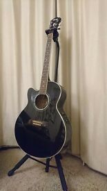 Left handed Ibanez semi acoutic guitar for sale