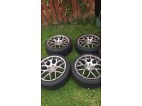 "18"" Vmr Alloys with tyres"