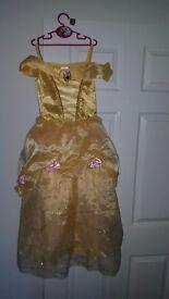 Disneys Belle dress age 7-8 brand new