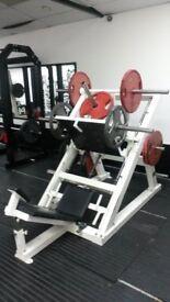 45 degree leg press commercial gym equipment