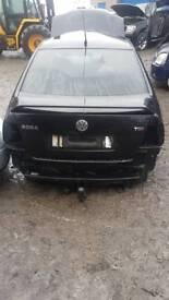 Volkswagen bora back spoiler
