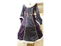 Girls Queen/Tudor Dress-Up Dress