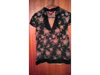 Ladies Chinese Style Top by Monsoon. Size 8