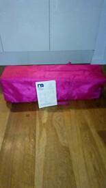 Mothercare Classic Travel Cot (flower)