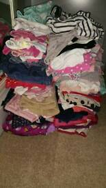 Girls clothes age 9mths to 24mths