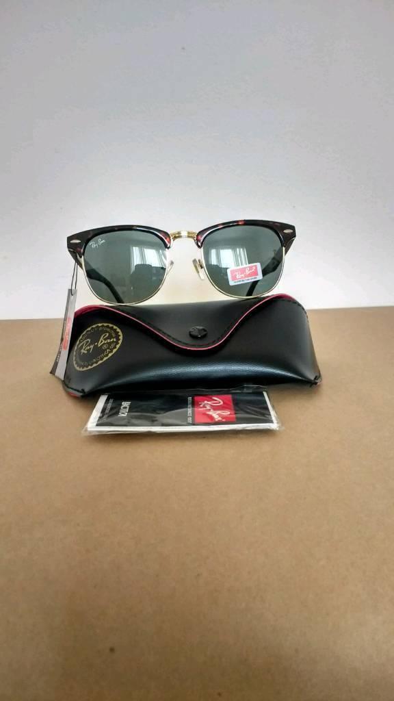 Rayban clubmaster sunglasses tortoiseshell