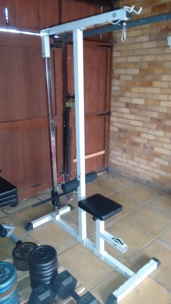 PLATE LOADED LAT PULLDOWN / LOW ROW MACHINE