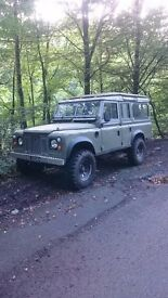 Landrover series 3 unfinished project