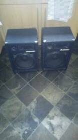 3 way pa speakers
