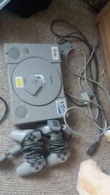 Playstation 1 with 33 games