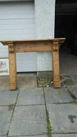 Fireplace Surround - Solid Oak