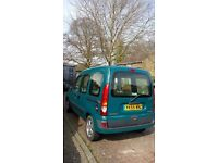 2005 Renault Kangoo Expression 16V, 1598CC Petrol, 5DR, Auto low milage wheelchair accessible