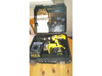 Used Dewalt DC984XRP 14.4V cordless heavy duty comb. drill set. See photos & details