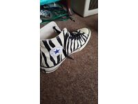 Converse Chuck Taylor shoes / trainers zebra 10
