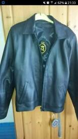 Real lambs leather jacket size 10