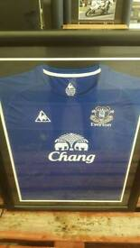 Signed football top