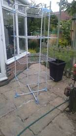 FREE Tall clothes airer