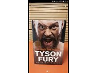 Tyson Fury Autobiography perfect conditions