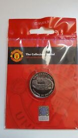 Manchester United Royal Mint Collectors Medals - box of 12
