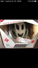 Woman's Specialized cycle helmet