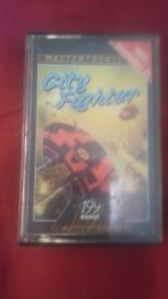 Commodore 64 retro cassette game city fighter