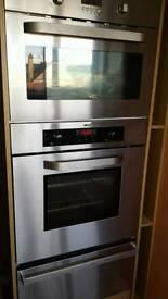 Zanussi built single oven & microwave