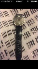 Genuine Emporio Armani watch