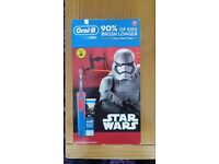 Oral b starwars rechargeable toothbrush