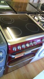Hotpoint electric cooker new ex display which may have minor marks or blemishes.