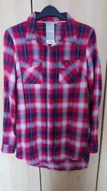 Check shirt size 8 Brand New