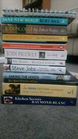 Selection of books £1 each