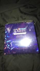3d WHITE CREST WHITENING STRIPS x40