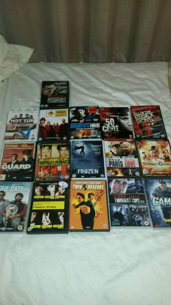 Dvd bundlein Newmarket, SuffolkGumtree - Dvd bundle for sale all films in picture cheers