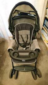 Chicco pram and car seat/isofix base