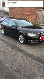 Audi A3 sport 2.0 tdi 30 pound year road tax