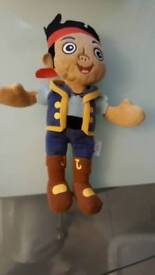 Jake and the neverlands pirate soft toy