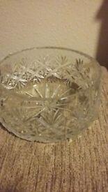 Perfect Cut Glass Bowl