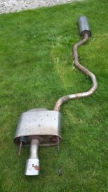 Vauxhall vectra sri stainless steel exhaust