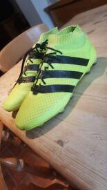 adidas ace 16.1 primeknit professional size 10 football boots