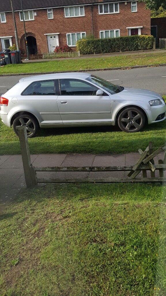 Audi a3 good car slight misfire hence cheap price bargain 500