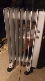 oil radiator 1500w