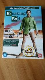 BREAKING BAD dvd complete series 1 new unopened