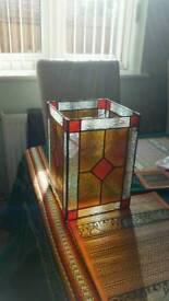 Lovely coloured glass lightshade